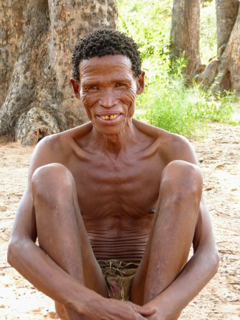 San man - Bushmen - erfgoed van Namibië