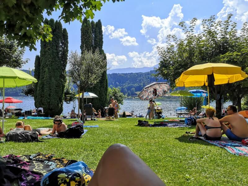 Strandbad Ertl - Seeboden Oostenrijk