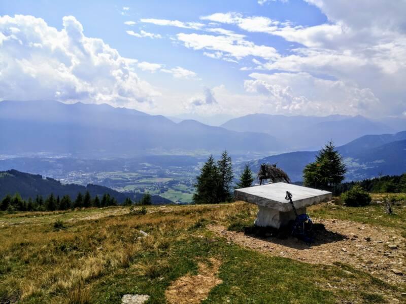 Tschiernock Oostenrijk nabij Millstätter See