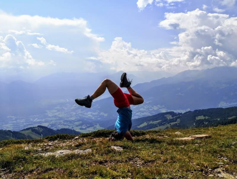 Yoga in de Alpen - Oostenrijk
