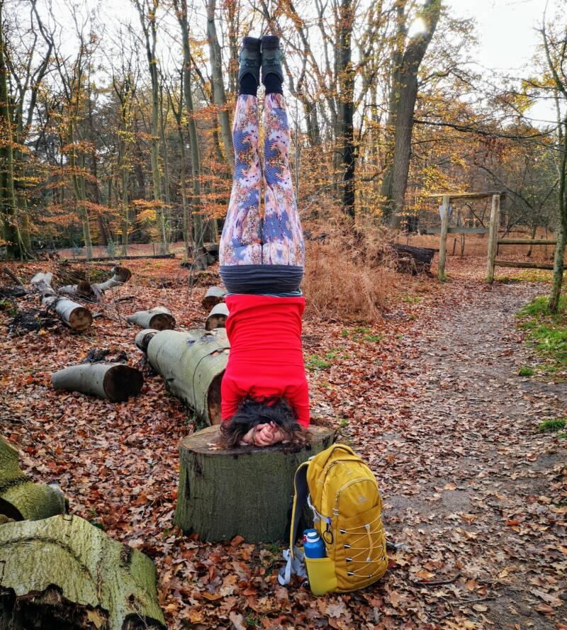 Soestduin LAW3 Yoga onderweg