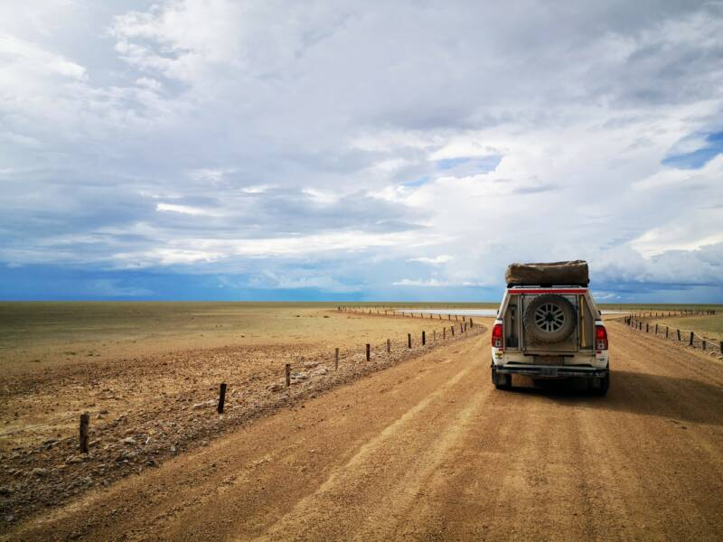 Etosha Pan - natuur erfgoed van Namibië