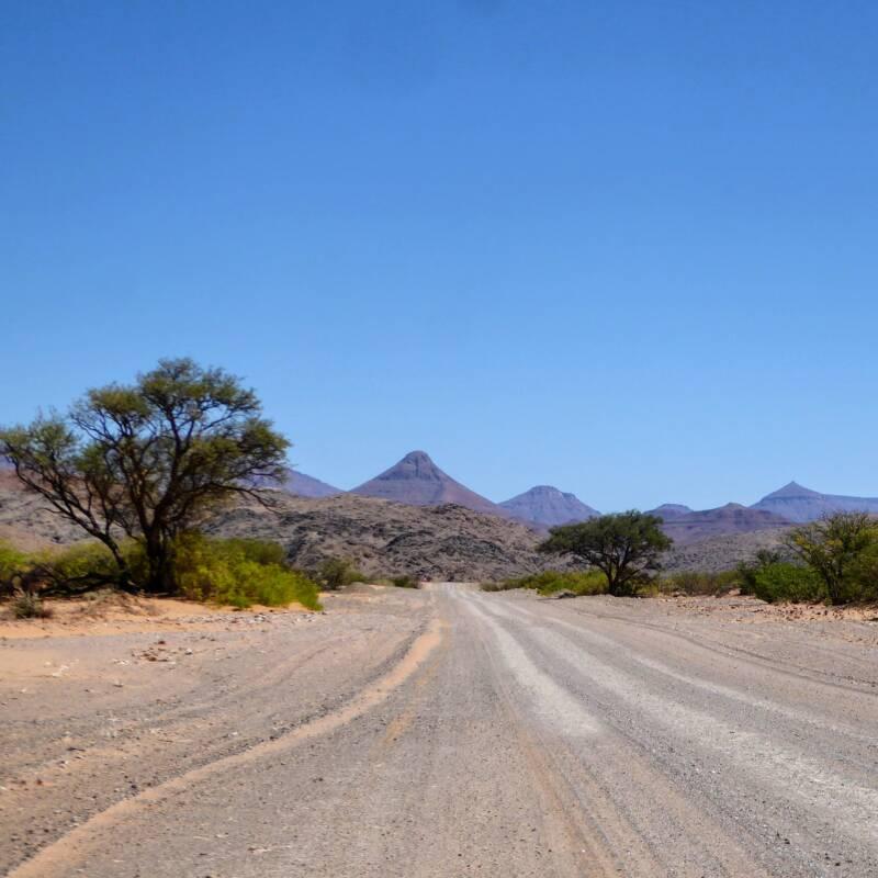 De Namib woestijn Namibië