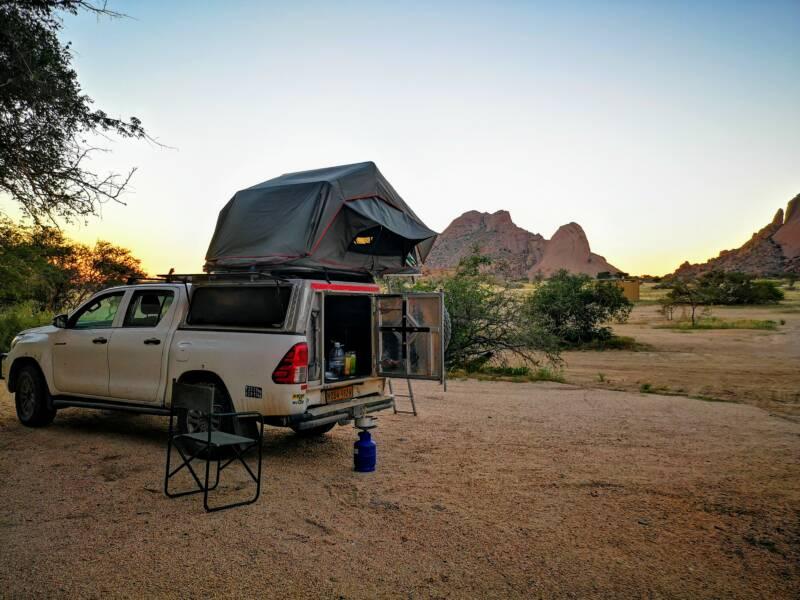 Het avontuur van Kamperen in Namibië