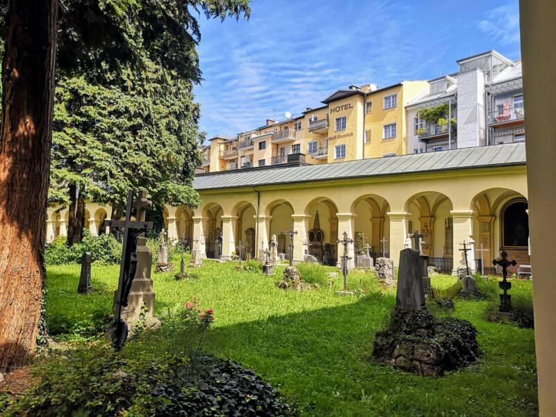 St Sebastian Friedhof Salzburg