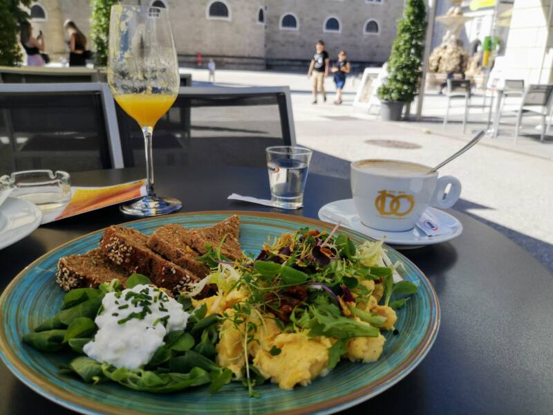 Ontbijt in Salzburg - Oostenrijk