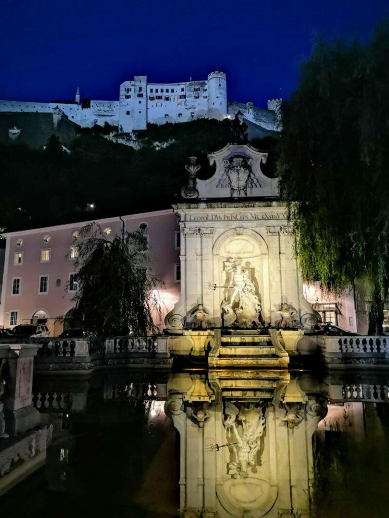 Salzburg - Oostenrijk by night