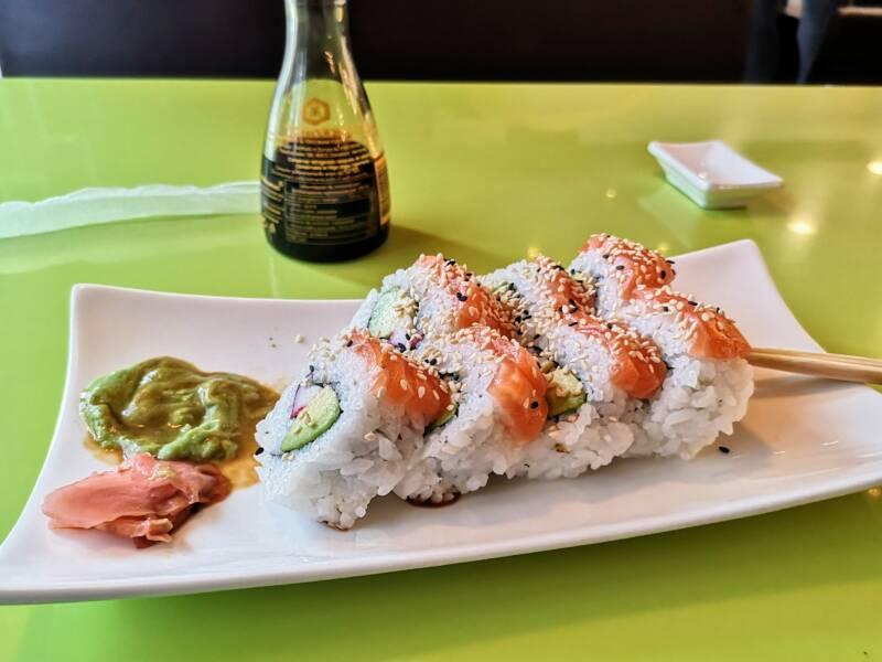 Sushi bij Mister Wen Asia Food - Oostenrijk